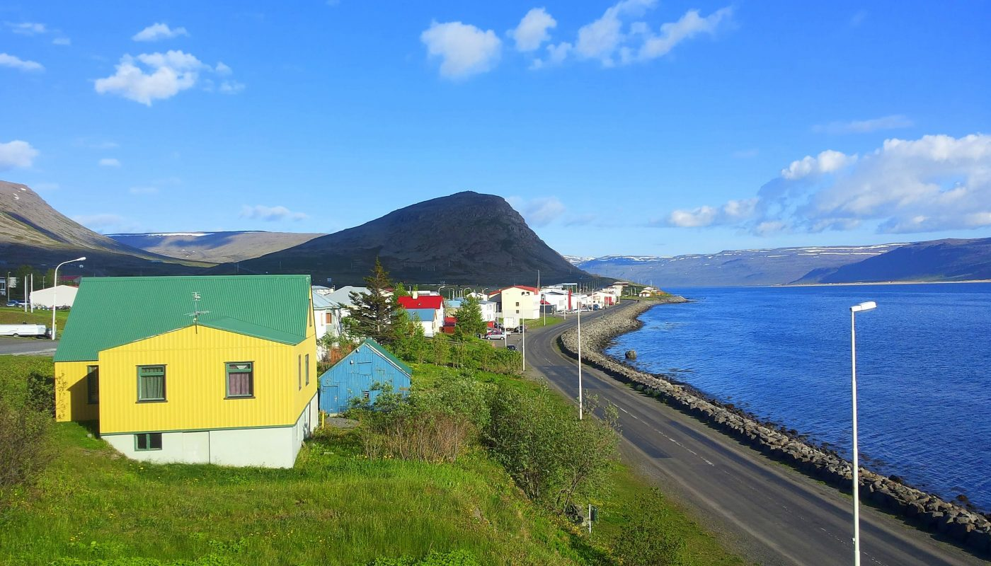 View Over Patreksfjordur