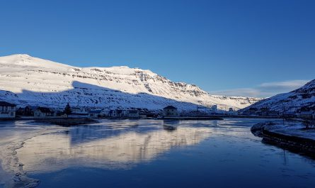 Winter Stillness in Seydisfjordur
