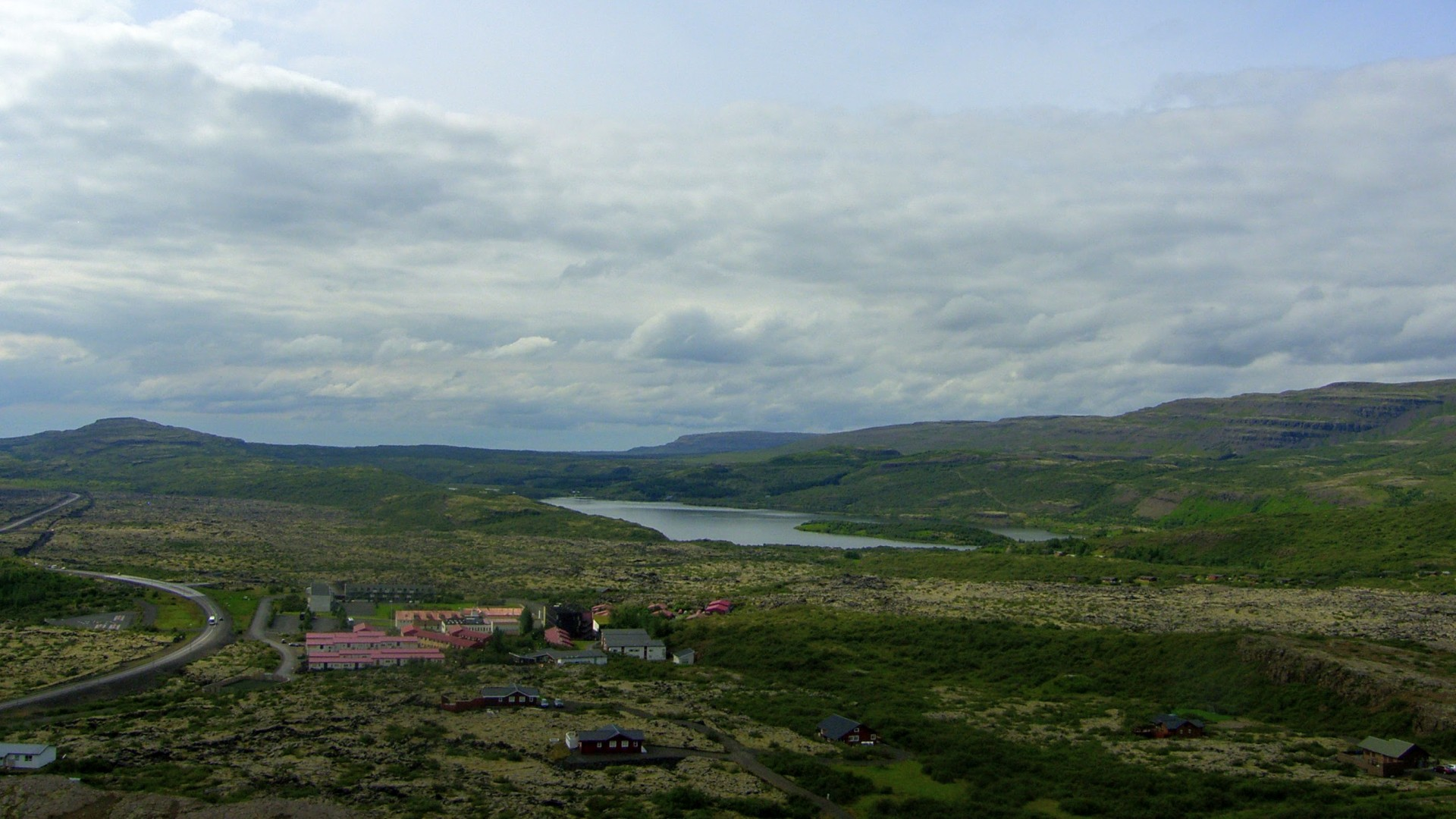Bifrost and Lake Hredavatn