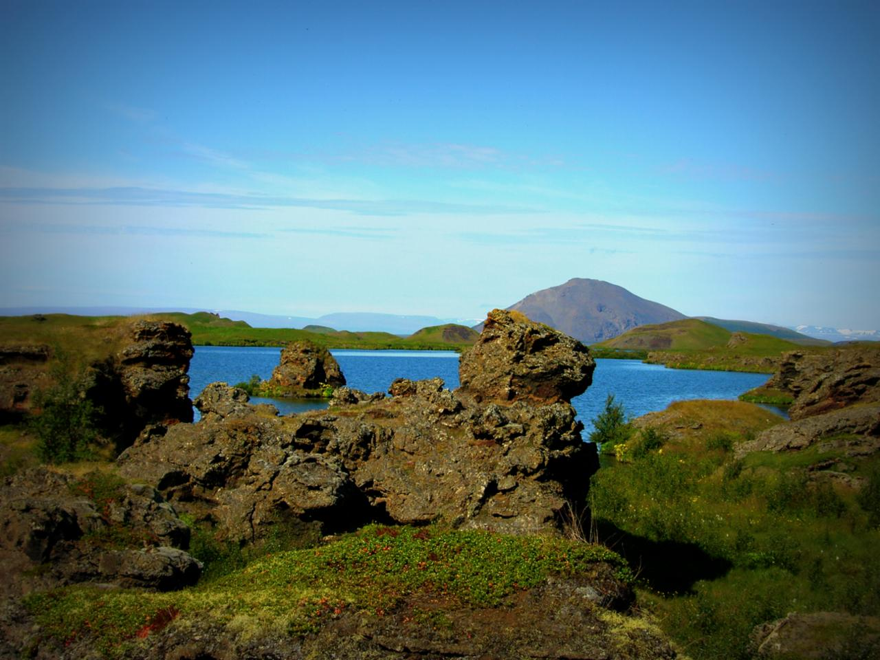 Lava Formations at Myvatn
