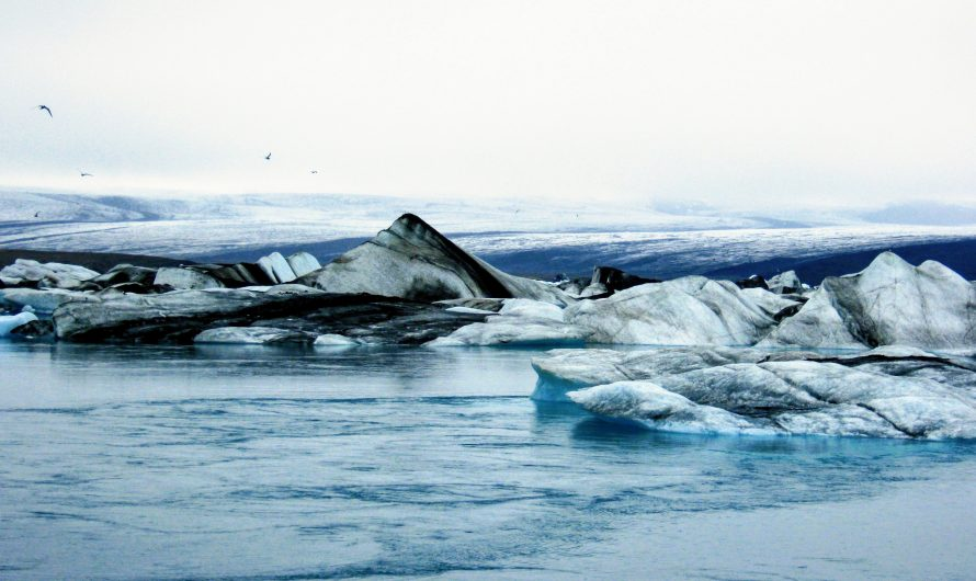 Jokulsarlon Is The Famous Glacier Lagoon
