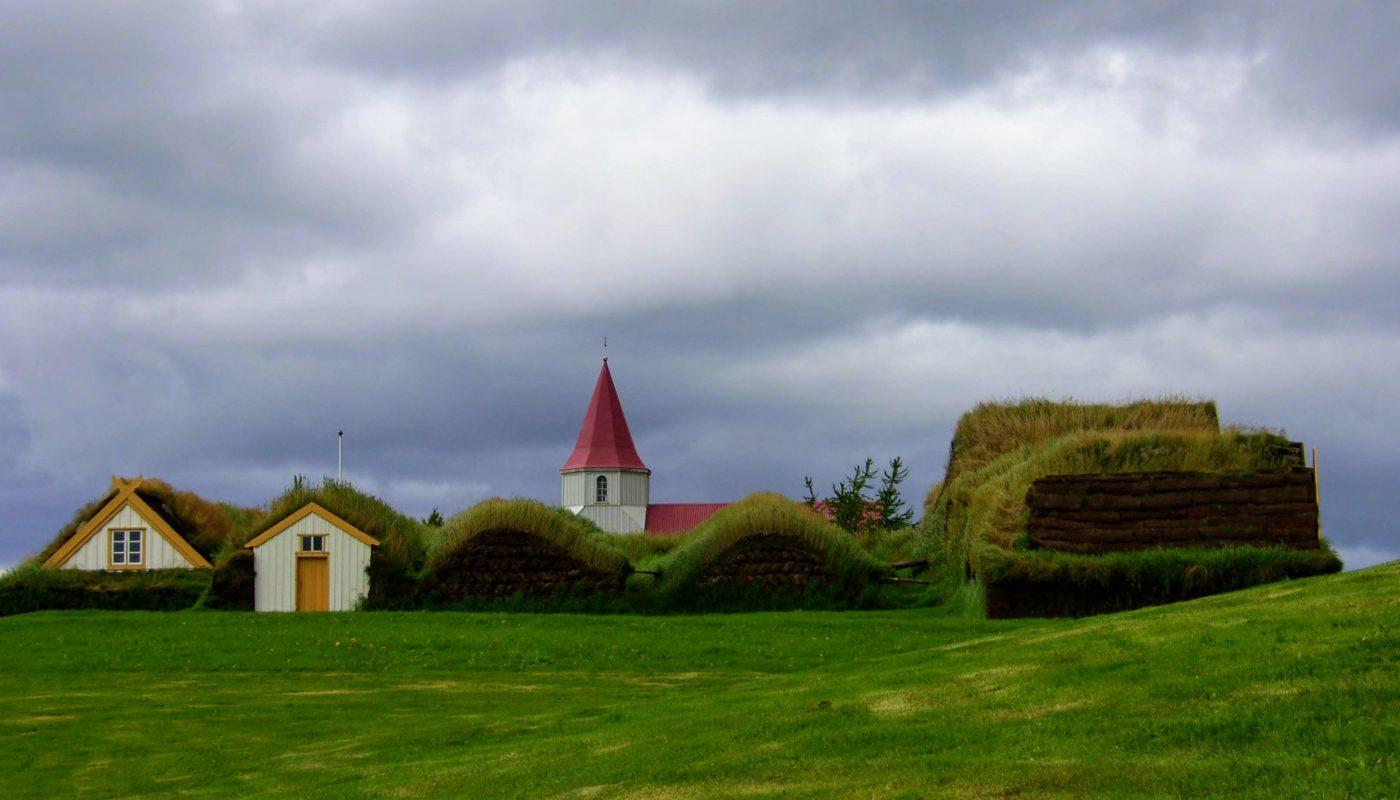 Turf House in Glaumbaer Skagafjordur