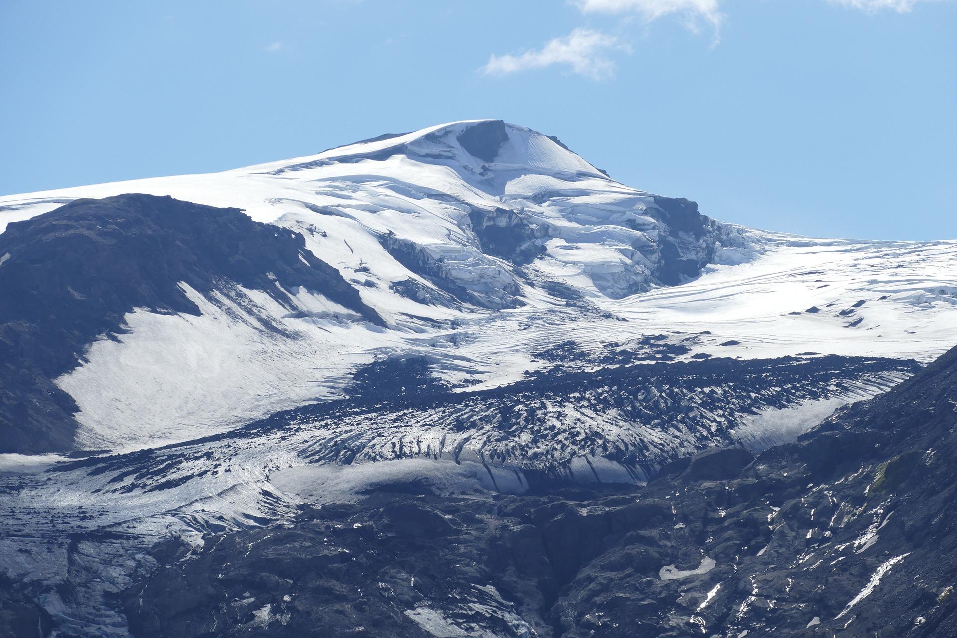 Eyjafjallajökull Glacier Volcano