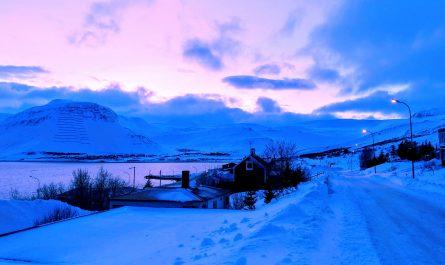 Ísafjörður Winter Afternoon