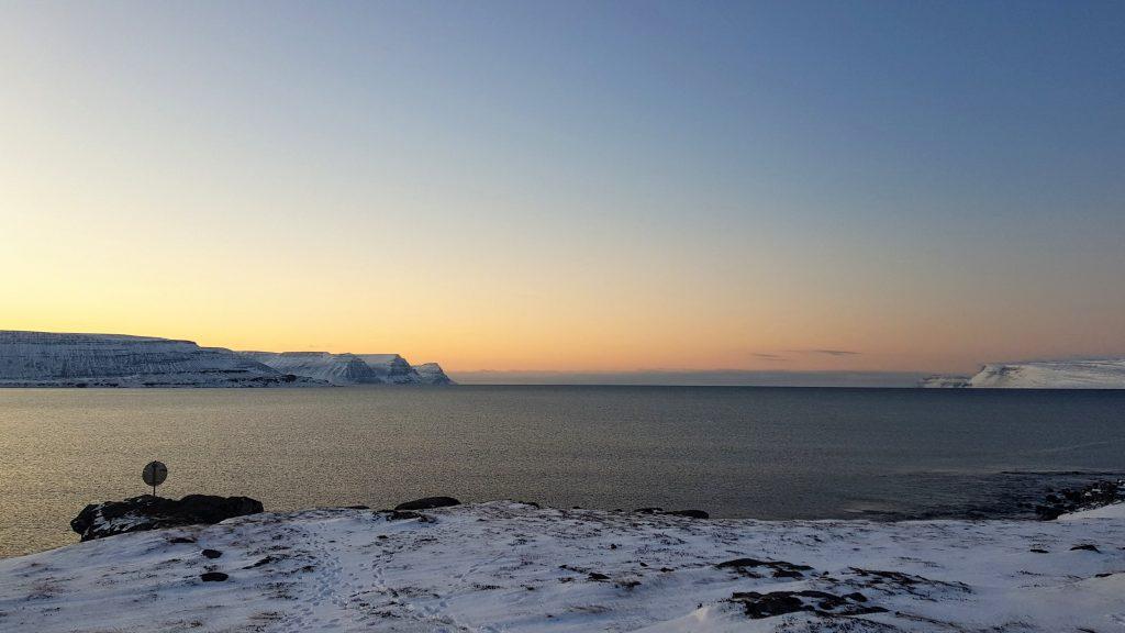 View From Skötufjörður