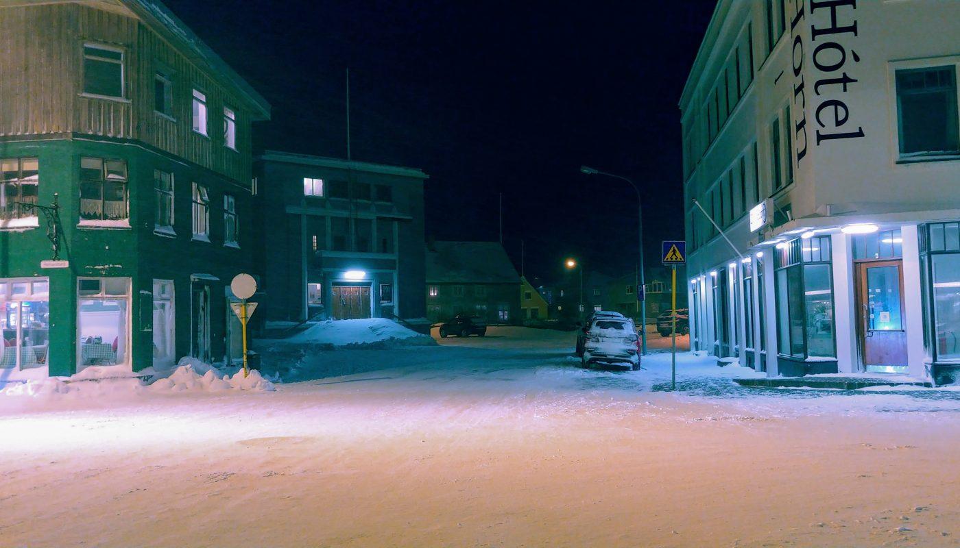 Isafjordur Town Center