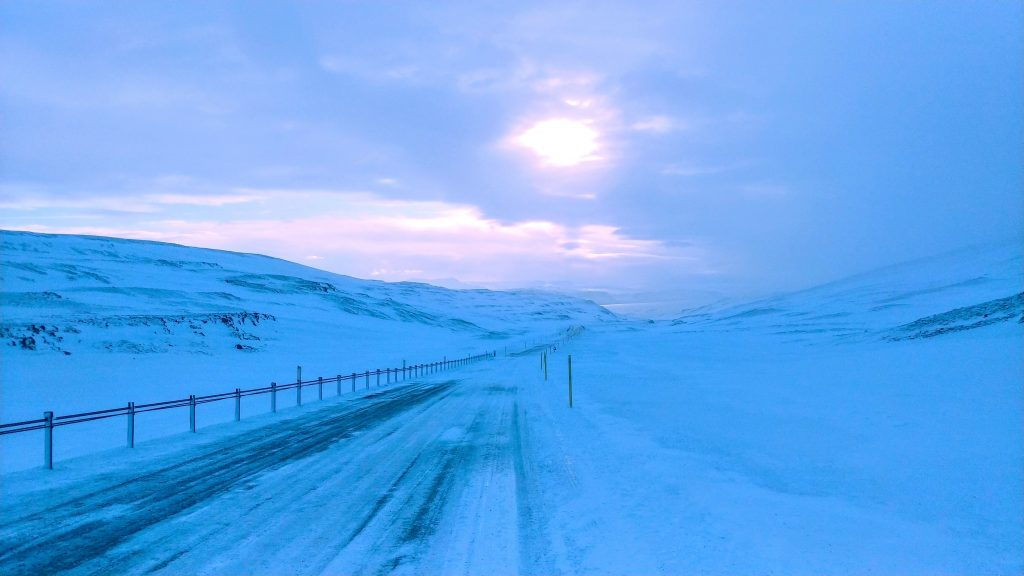 View From Þröskuldar Road