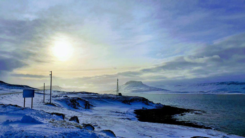 Skötufjörður In Winter
