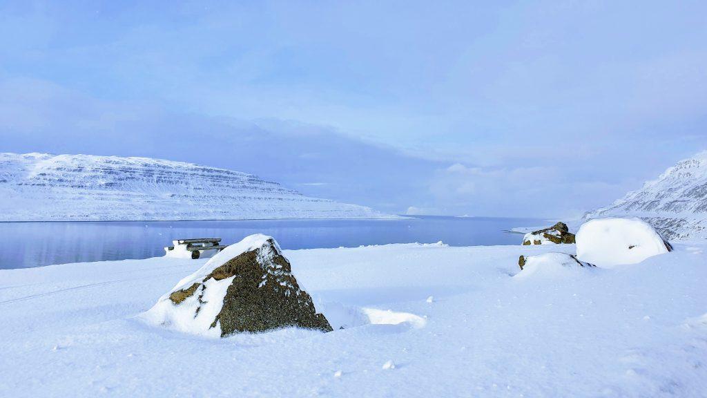 Rest Stop In Skötufjörður