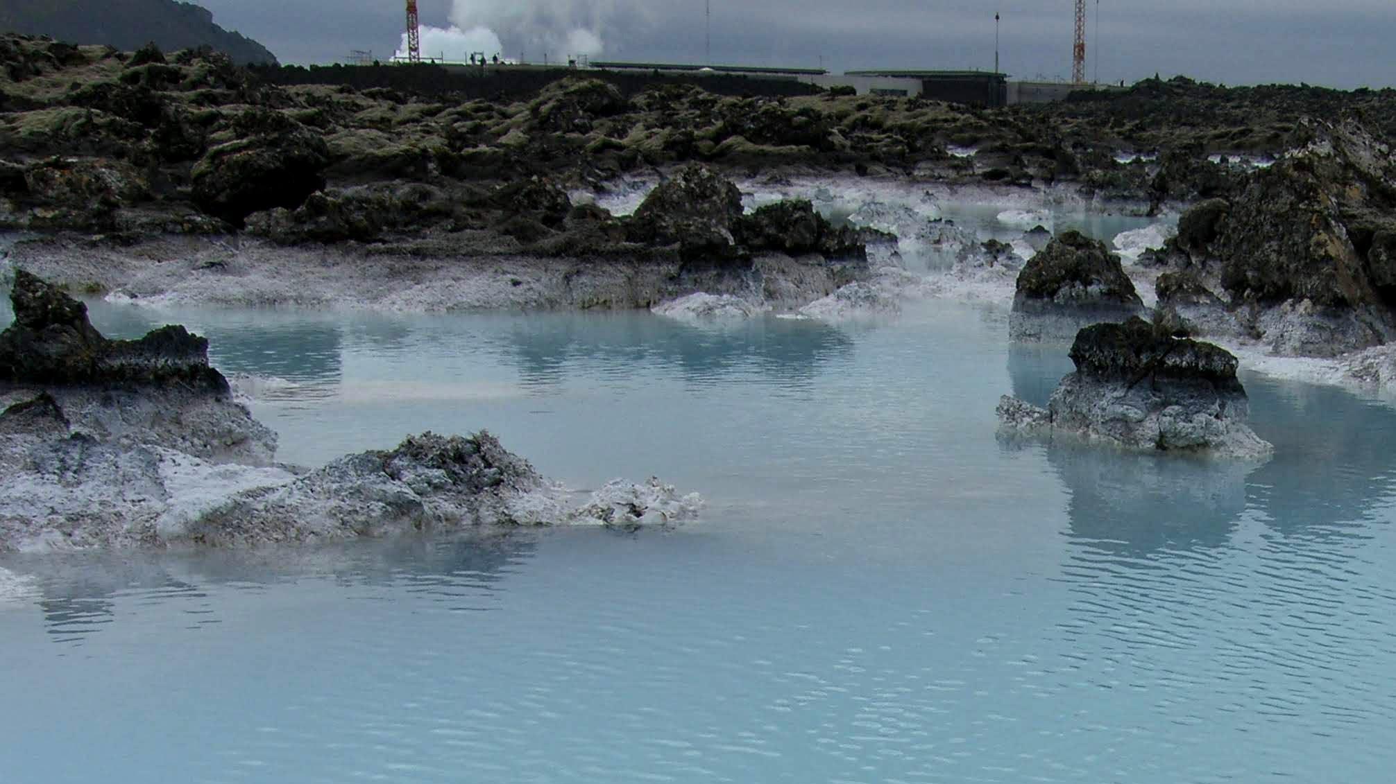 Geothermal Area Near Blue Lagoon