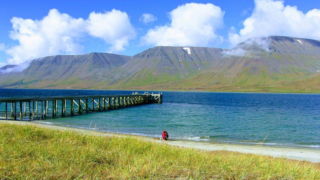 Sand Beach Onundarfjordur - Westfjords