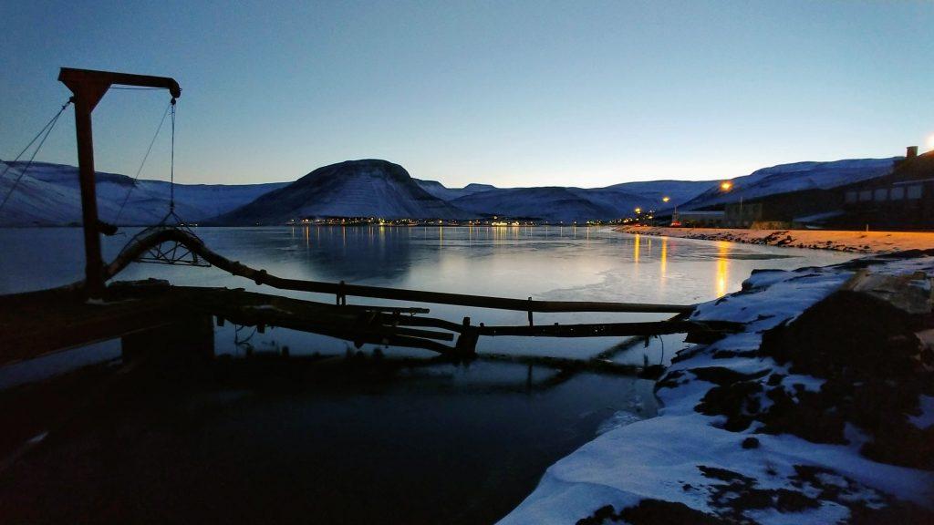 The Dredging Pier
