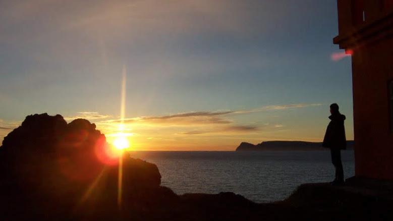 Oshlid Lighthouse Isafjordur Bay - Westfjords