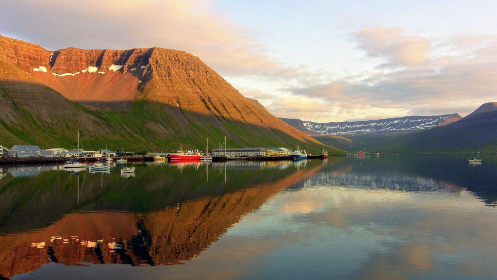 Isafjordur Harbour - Westfjords