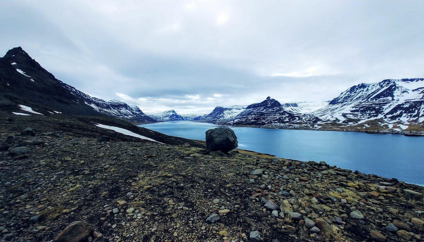 Alftafjordur in Spring