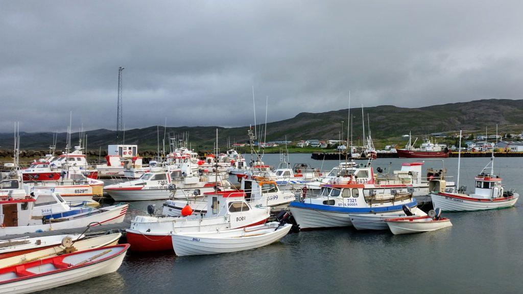 Fishing Boats At Holmavik Harbour