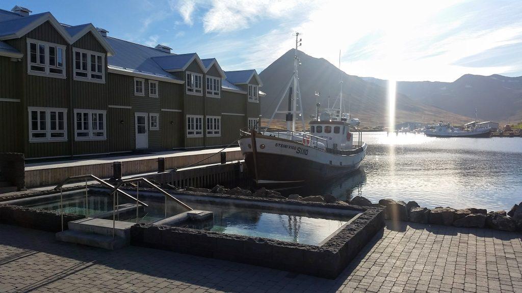 Fishing Boat At Siglufjordur Harbour