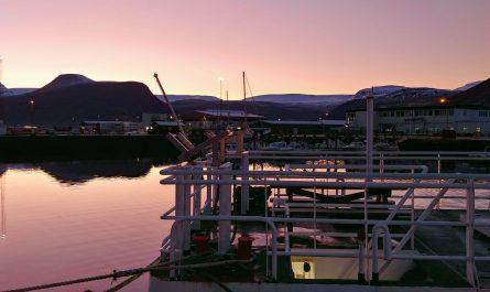 Autumn at Isafjordur Harbour