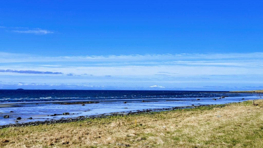 Bardaströnd Shore - Snæfellsnes in Background