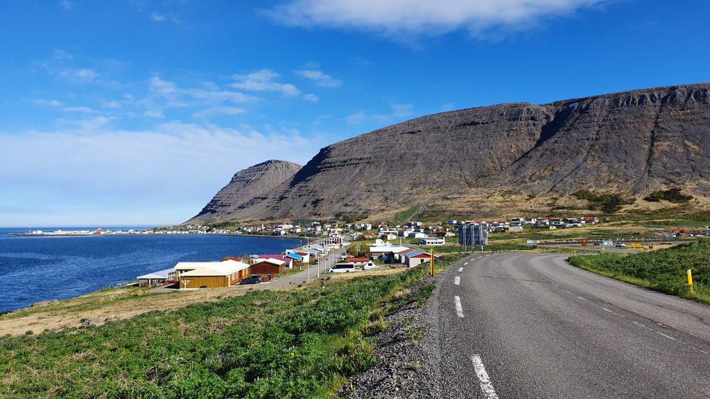 Patreksfjörður Town