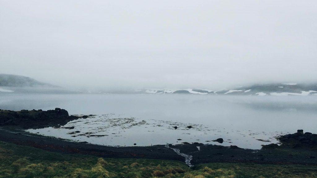 Fog and Stillness In Strandir Area