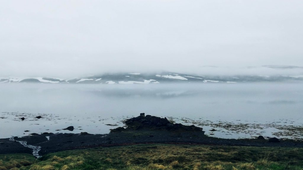 Fog and Stillness In Strandir Area