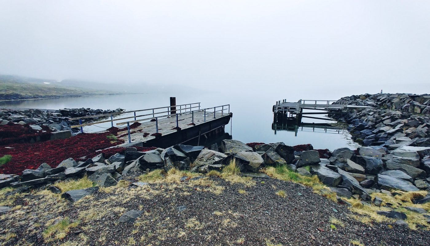 Old Harbour In Isafjörður Fjord