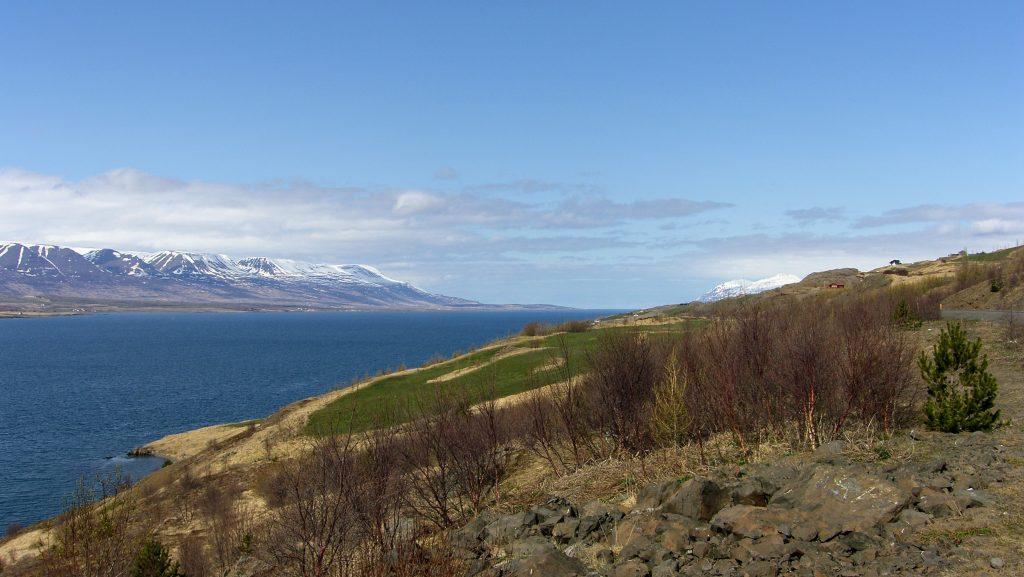 Eyjafjörður In Springtime