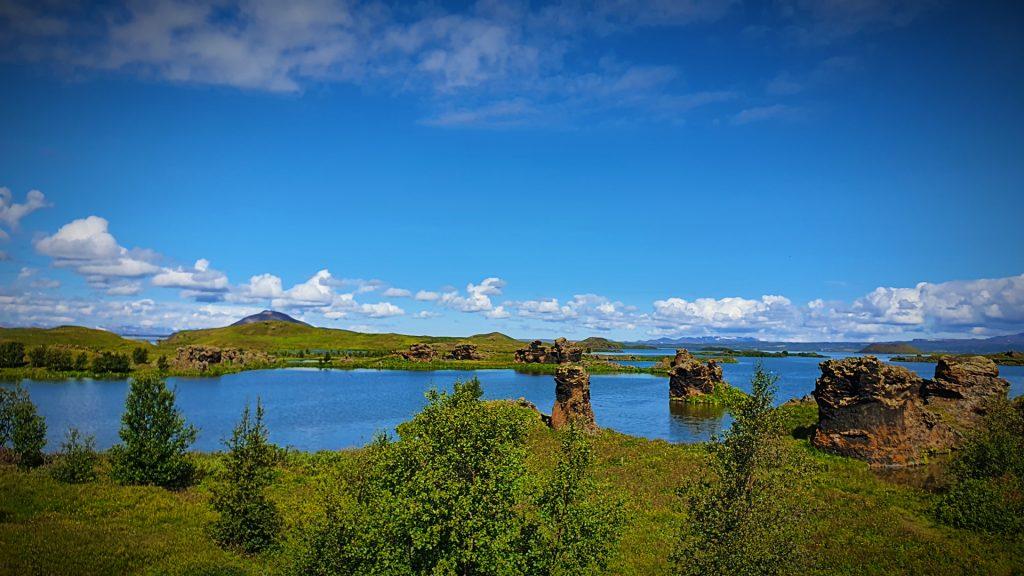 Lake Myvatn Lava Formations