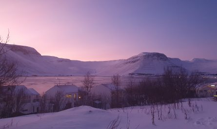 Morning in Isafjordur
