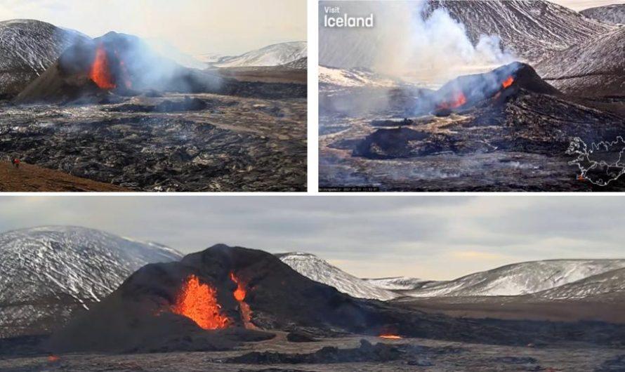 Reykjanes Volcano Eruption Livestreams