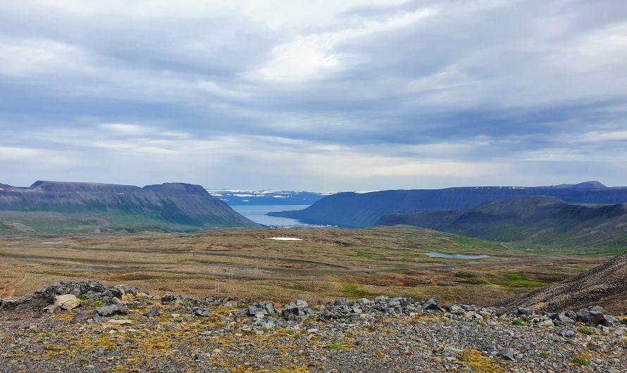 Hiking Over Breiðdalsheiði In The Westfjords