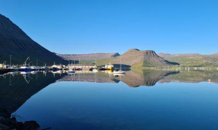 Morning in Isafjordur Harbour