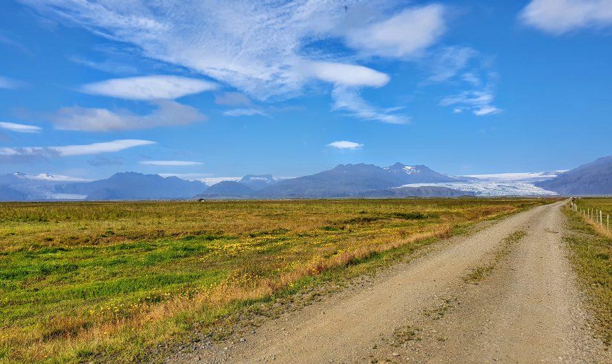 Enjoying Amazing Mountain Views and Wildlife At Hornafjörður