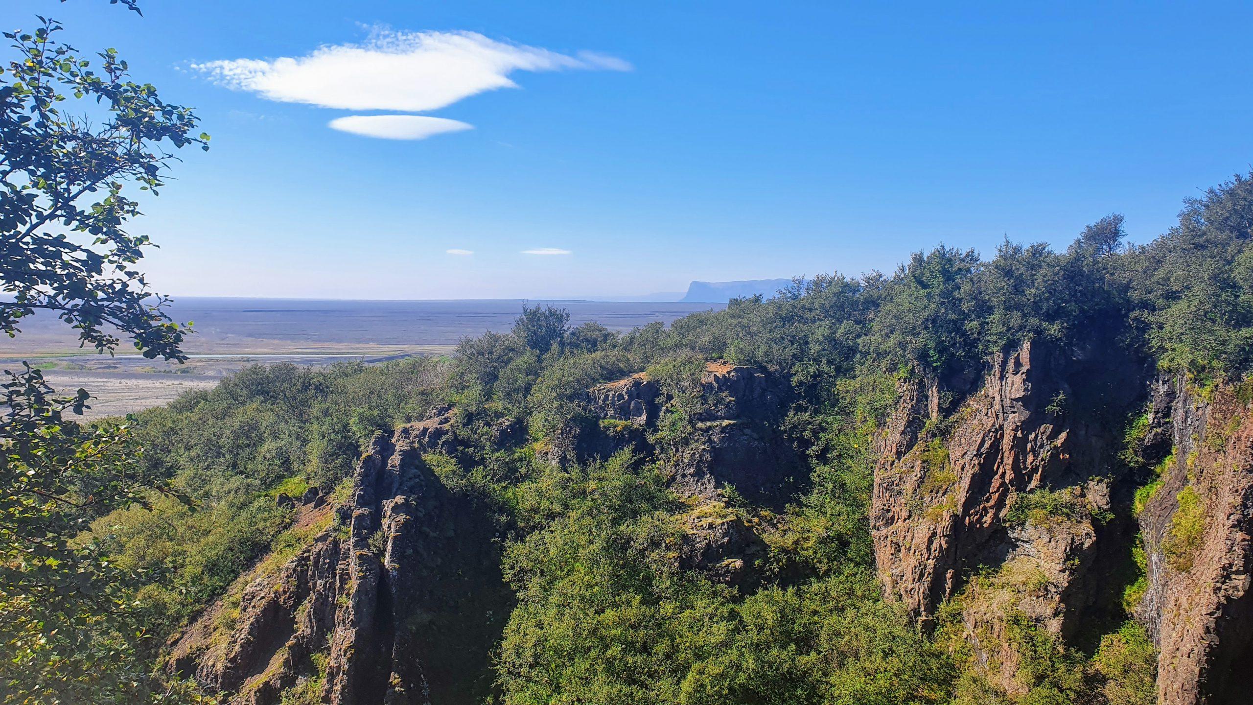 Cliffs In Skaftafell