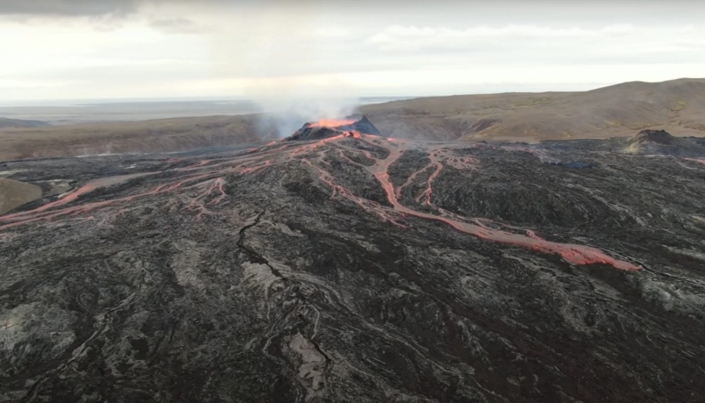Eruption on Reykjanes