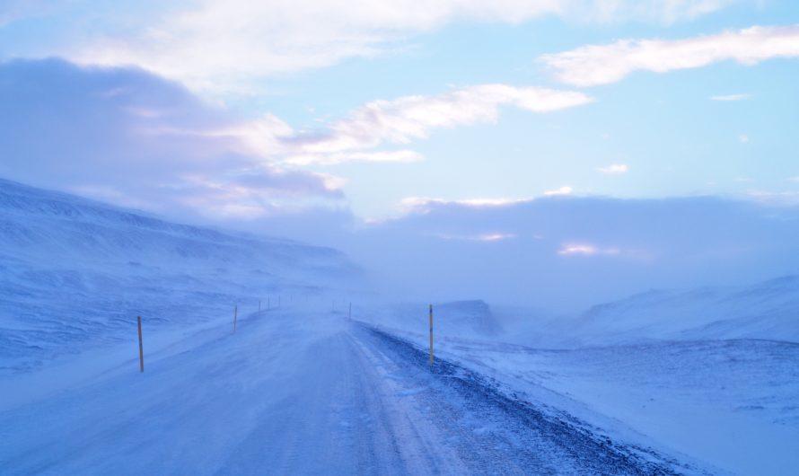 Unpredictable Winter Road Conditions