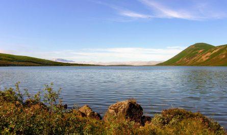 Botnsvatn Lake Near Husavik