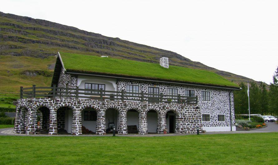 The Author's Mansion At Skriduklaustur