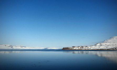 Springtime at Isafjordur Bay