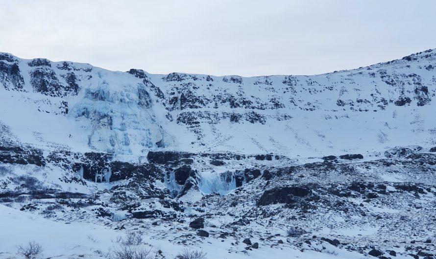 New Tunnel Reveals Dynjandi Waterfalls In Winter